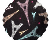 Made to Order County Cloth Creations Flannel Topped Cloth Menstrual Pads ~you pick your size & absorbency~Paris