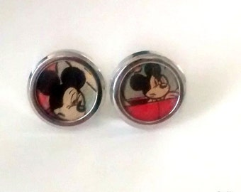 Mickey Mouse cufflinks vintage comic books vintage comics  1978 images