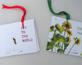 Gift tags, Eid, Joy, Holiday,Stationary,Art