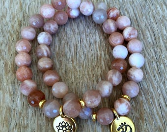 New - Luxe Sunstone Bracelet and Charm
