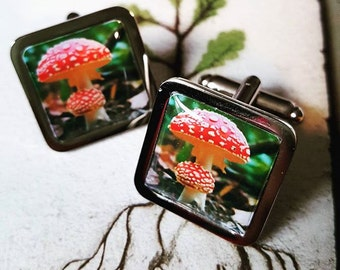 Toadstool Cufflinks