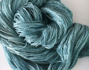 TIFFANY BLUE SeaSilk Lace Yarn