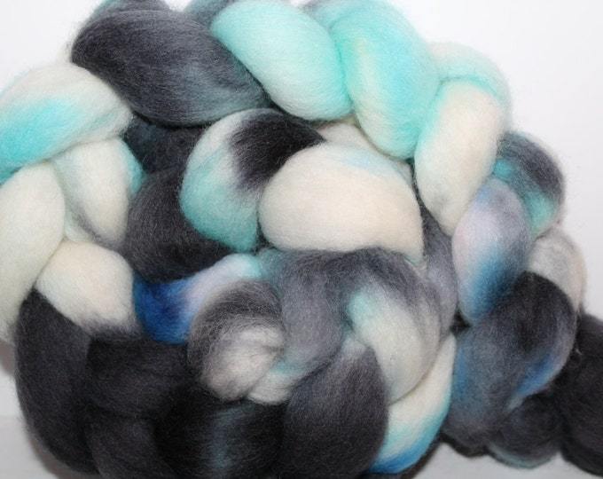 Kette Dyed Polwarth wool top. Roving. Spin. Felt. Super Soft. 4oz FREE SHIP #P22