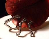 VDAY Sale Trio - Octopus Earrings, Tentacle Earring, OctopusME, Earring, Octopus Ring, Spectre, James Bond, Cthulhu, Tentacle
