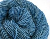 Olana fingering weight cormo alpaca angora blend yarn 300yds/274m 2oz/57g Lapis