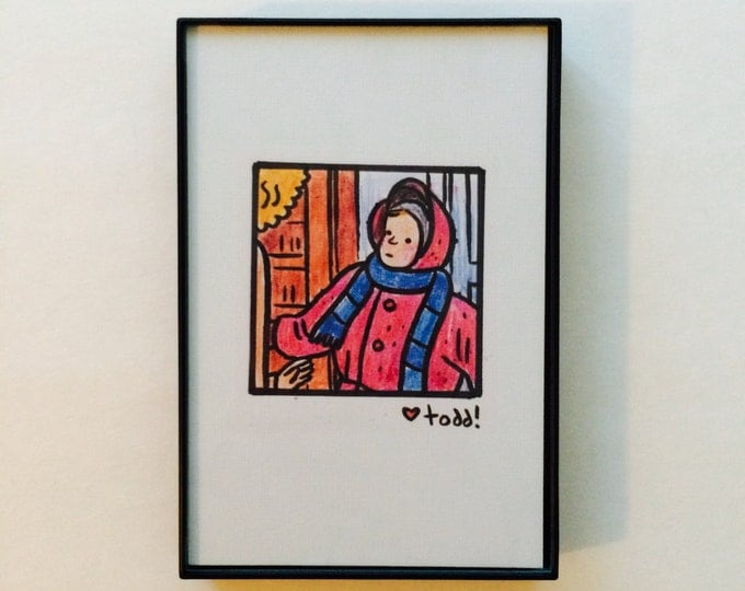 A Christmas Story, Print, 4 x 6 inches, Randy, snow suit, Christmas, Movies, Gift, Film Geek, Pop Culture, Wall Decor, Red Ryder