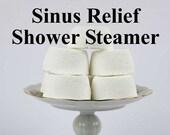 Sinus Relief Shower Steamer - Sinus Shower Bomb - Gift For Men - Husband Gift - Gift For Dad - Stocking Stuffer