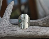 SZ. 8.5 - Boundless Saddle Ring - Sterling Silver Ring