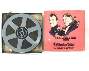 Leave Em Laughing vintage 8mm film Laurel and Hardy Movies by Blackhawk films 810-259 dentist comedy film dental movie