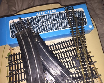 Assorted Life Like Train Tracks Lot