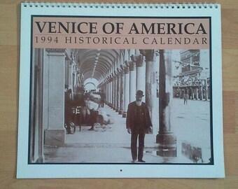 Venice of America 1994 Calendar