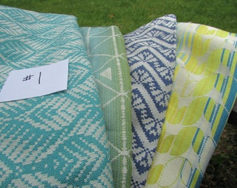 Wrap Scrap Tekhni almost 3 yards Remnant Fabric #1 for suck pads, key fobs, blanket squares, headbands Delta, Persephone, Olympos, Laurel