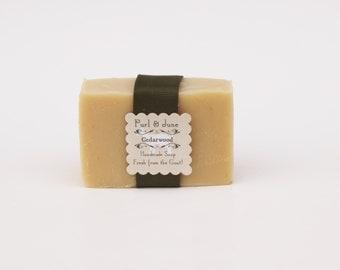 Cedarwood Goat Milk Soap