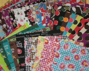 Mrs. March Retro Pop Fabric by Lecien Fabrics - 34 Piece Complete Layer Cake OOP, HTF