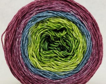 Hummingbird 100g Panoramic Gradient, Greatest of Ease, dyed to order