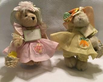 "Muffy and Hoppy Vanderbear ""Easter Fantasy"""