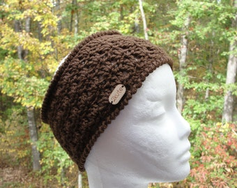 Women crochet headband, Crochet women ear warmer, crochet brown headband, teen ear warmer, woman earwarmer, gift mom gift, gift women