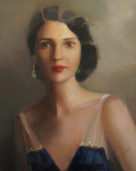 Kathleen would never be described as beautiful, but there was something extraordinary about her. Art Print.