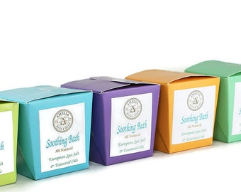 Natural Bath Salts | Water Softeners, Sea Salts, Essential Oil Product, Floral and Citrus Bath Soak | Meadow and Orchard Soothing Bath