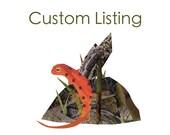 Custom Listing for Stefanie