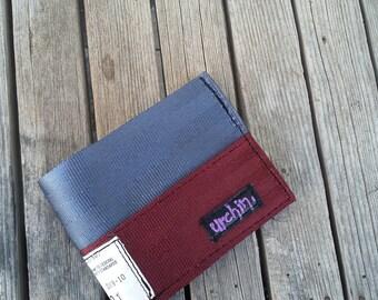 Mens Seatbelt Wallet - Recycled Wallet - Seat Belts