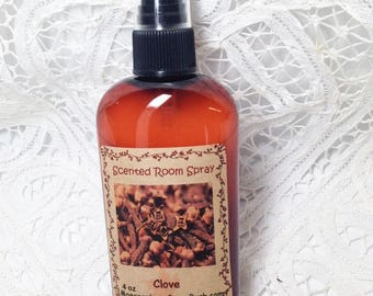 Room Spray Clove - 4 ounce bottle