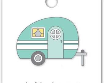 Glamper Collectible Pin (Limited Edition) Doodlebug Flea Market Collectible Enamel Pin (5411)