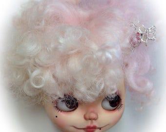 Pink cloud OOAK blythe wig x