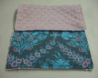 Josephine's Bouquet Baby Burp Cloth 9 x 13 READY TO SHIP On Sale