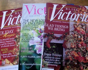 VICTORIA Magazines (3 issues)  2003 March, 2009 N/D,  2011 N/D.