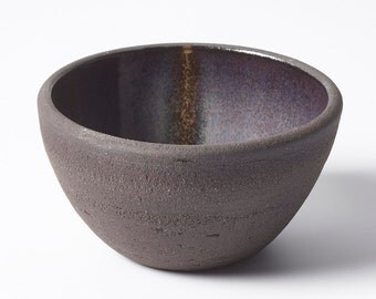Small Black Glazed Bowl