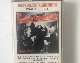 Fabulous Thunderbirds Powerful Stuff Cassette Tape