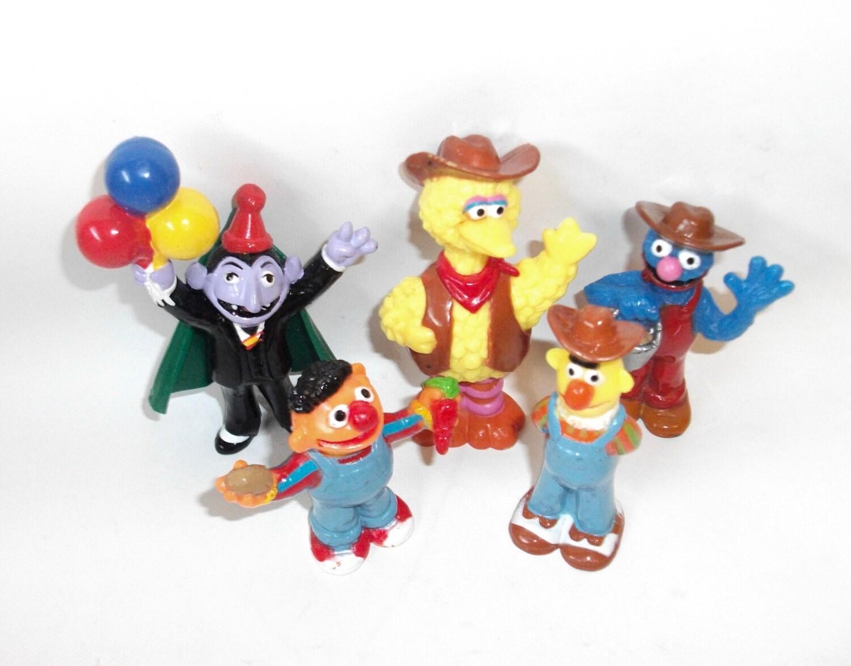Sesame Street Toys : Vintage sesame street figures muppets toys for