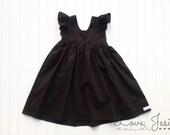 Little Girls Black Dress, Baby Girls Dresses, Little Girls Dress, Dresses for Little Girls, Baby Girl Black Dress, Black Dress Girls