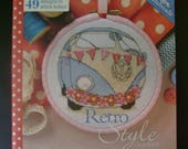 Retro Style Cross Stitch Booklet - from Cross Stitcher Magazine - 49 Designs