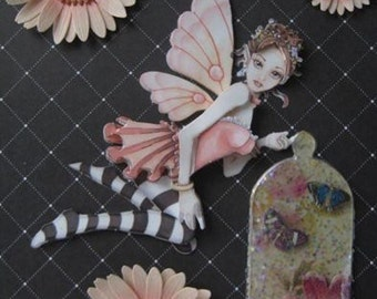 Mischievious Fairy 3-D Greeting Card