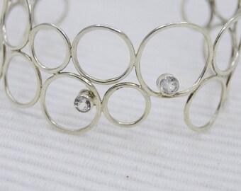 Orbitals cuff bracelet
