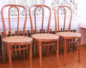 Reserved.....Vintage bentwood chairs set of two thonet style
