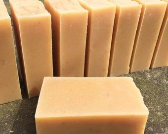Lemon Yogurt Soap, Gentle Soap with Organic Yogurt, Handmade Cold Process Soap, a luxurious & creamy lather