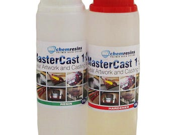 MasterCast Clear Epoxy Artwork resin 13.5 ounce (400 g) kit