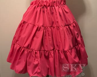 Loli's Petticoat in Bright Pink