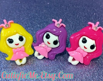 Kawaii Princess Girl Ring, 3 colors