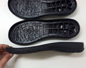 Rubber soles for felted shoes with edge, DIY project shoemaking, all sizes