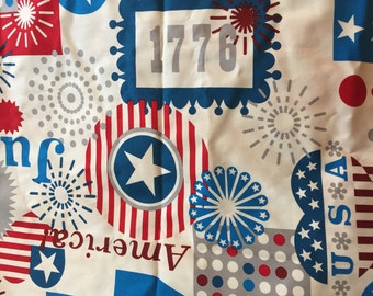 One Yard of Forth of July  Fabric