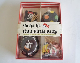 Pirate Party Cupcake Kit by Meri Meri