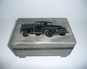 Music box with old truck