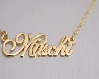 Custom Name Necklace - Personalized Name Jewelry - Custom Name Gifts - Your Name Necklace