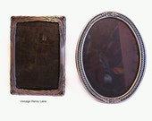 Silver Metal Picture Frames, Lot of 2, 5x7