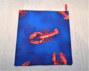 LOBSTER MICROWAVE POTATO Bag for microwave cooking, potato cooker, potato bag, for housewarming, birthday, holiday, gifts