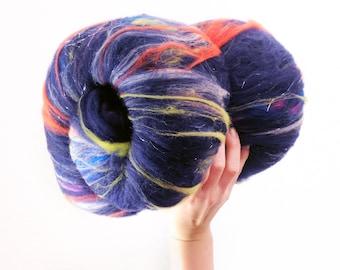 Nebula - Merino Wool Art Batt 4.0oz